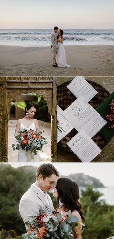 85086d2ddc9 Sayulita Mexico Destination Wedding with Bright Colors and Bohemian Styling  Edgy Wedding
