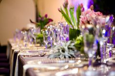 #stylisheventsbylisa #thepressroom #classicpartyrentals #floral #reception #purple #jilllaurenphotography