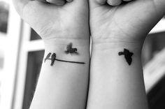 Birds on a wire #tattoo