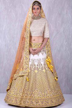 Buy Samyakk Lemon Yellow regal raw silk lehenga choli with Zardosi Work online Gold Lehenga, Raw Silk Lehenga, Yellow Lehenga, Bridal Lehenga Online, Lehenga Choli Online, Raw Silk Fabric, Yellow Fabric, Lehenga Style, Beautiful Bollywood Actress