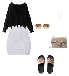 Untitled #30 by jacqueline-jj on Polyvore featuring polyvore, fashion, style, Gucci, David Yurman and clothing