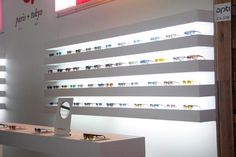 Mirror for optica designed in exclusively for Etnia Barcelona