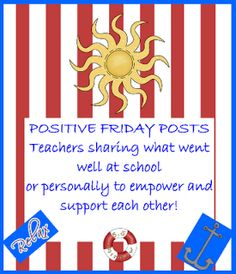 Hopkins' Hoppin' Happenings: Positive Fridays - Week of May 21st, 2012