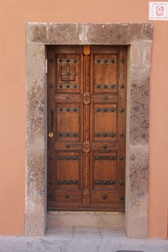 One of many doors.  What is behind them is even more beautiful.
