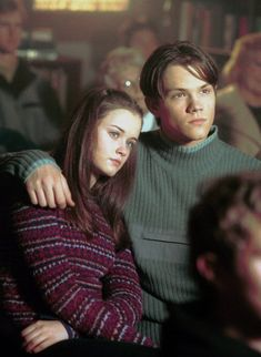 Rory and Dean / Alexis Bledel and Jared Padalecki In Gilmore Girls