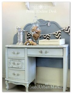 Petite Abeline Desk By SubUrbanMarketHome On Etsy, $180.00