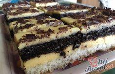 Famózní krémovo-kokosový RAFFAELLO koláč Chocolate Candy Cake, Czech Recipes, Candy Cakes, Pastry Cake, Desert Recipes, Mini Cakes, Cakes And More, No Bake Cake, Bakery