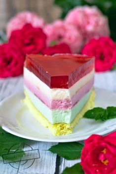 Lekki pastelowy torcik Fall Desserts, Sweet Desserts, Baking Recipes, Dessert Recipes, Polish Recipes, Polish Food, Best Chocolate Cake, Mousse Cake, Bread Baking