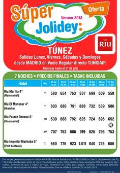 Túnez desde 558€ Tax incl.Julio - Octubre 7 Noches. Salidas desde Madrid - http://zocotours.com/tunez-desde-558e-tax-incl-julio-octubre-7-noches-salidas-desde-madrid/
