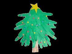Handprint Christmas Tree