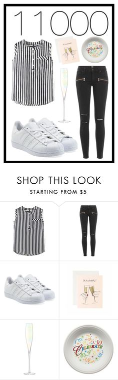"""#362 thanks for 11000 followers "" by xjet1998x ❤ liked on Polyvore featuring Paige Denim, adidas Originals, LSA International and Fiesta"