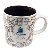 Twin Cities Bouism Ceramic Mug- Coffee Shop, Coffee Mugs, Caribou Coffee, Expensive Coffee, Beautiful Places To Live, Twin Cities, Coffee Recipes, Ceramics, Tableware