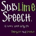 Sublime Speech: lovely speech therapy blog