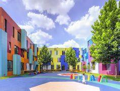 El paraíso del color por Atelier Alter - FRACTAL estudio + arquitectura