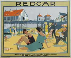 ENGLAND - Yorkshire - Redcar poster