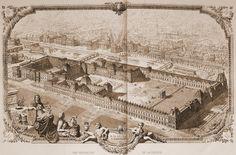 Le Palais des Tuileries Paris Vintage, Old Paris, Paris Map, Paris France, Architecture Parisienne, Parisian Architecture, Neoclassical Architecture, Louvre Museum, Louvre Palace