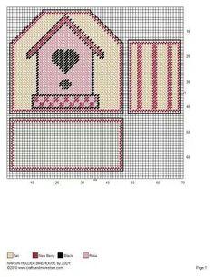 Birdhouse napkin holder