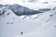 Backcountry Ski Touring on the Lofoten Islands by Christoph_Oberschneider