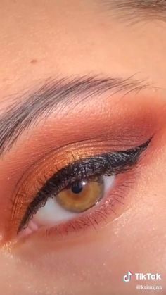 Eye Makeup Art, Colorful Eye Makeup, Day Makeup, Contour Makeup, Skin Makeup, Makeup Looks, Makeup Eyeshadow, Flawless Face Makeup, Brown Eye Makeup Tutorial