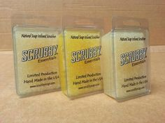 New Scrubby Essentials! Lavender - Lemon - Pure