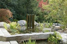 Modern Water Garden Design | Garden And Landscaping Design Ideas By  AguaFina Garden Design Pictures,