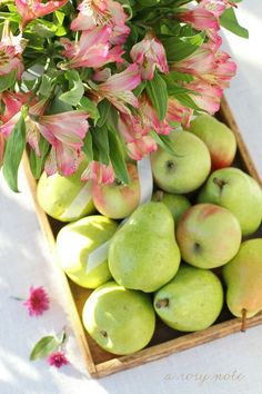 Pears #springforpears and #usapears