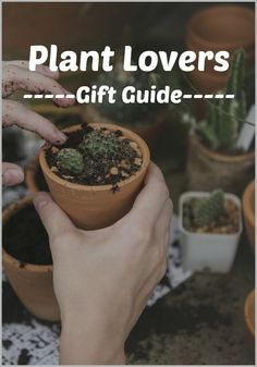 Gifts for Plant Lovers - New Gift Guide for Green Thumbs. If you have a plant lover on your list, we have just the gifts that they will love! Mini Plants, Indoor Plants, Face Planters, Plant Markers, Unique Plants, Garden Gifts, Tea Light Candles, Plant Holders, Gift List