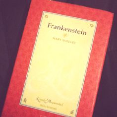 Frankenstein - Mary Shelley  My favorite book..even after the AP Literature project.