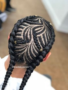 Gina 4 – Hair styles – - New Site Medium Hair Braids, Medium Hair Styles, Natural Hair Styles, 4 Braids, Braided Cornrow Hairstyles, African Braids Hairstyles, Black Girl Braids, Braids For Black Hair, Braid Styles For Men