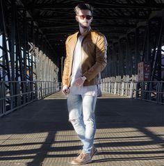 Outfit Men, Fashion Men, Men Style, men boots, jeans style, leather jacket - www.rodrigoperek.com