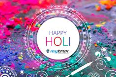 Let the colors of Holi spread the message of peace and happiness from #Mytrux #SaveWater