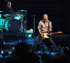 Bruce Springsteen performs in Albany, NY. 5/13/2014
