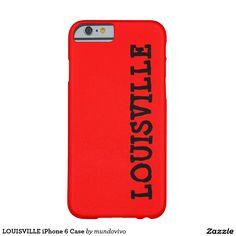 LOUISVILLE iPhone 6 Case