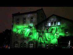 Johnnie Walker 綠標 3D Projection Mapping 夜的華山品酩自然之旅 - YouTube