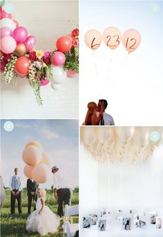 Decorating with Balloons - Easy Party DIY - 8 Balloon Ideas We Love