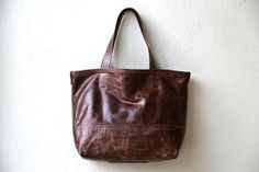 ready to ship  PROPER TOTE  lined in waxed by roughandtumblebags, $248.00