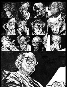 CÓMIC, historietas, tebeos…: ALBERTO BRECCIA. El rostro de los 1.000 personajes.
