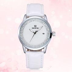 Add some elegance and beauty to your wrist with the #SKONE #quartzwristwatch,not only for its chic appearance, but also for its classical design and color. You can wear it on any occassion to show your elegance and confidence.It is definitely worth a try!