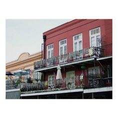 New Orleans French Quarter Poster