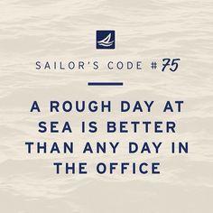 true.. #sailing quote
