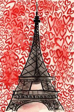 <3 Valentine's Day <3 Paris - by Adelle Macero