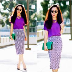 Print it Purple (by Hallie S.) http://lookbook.nu/look/4726983-Print-it-Purple