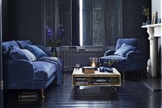 Trend : Moody Hues and Inky Blues - The Design Sheppard
