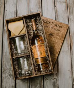 Wine Basket Gift Ideas Discover Whisky Box with slide lid (box only) Wood Gift Box, Wine Gift Boxes, Wine Gift Baskets, Wood Gifts, Basket Gift, Box Wine, Whiskey Gifts, Gift Packaging, Packaging Ideas