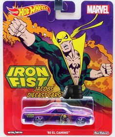 2016 HW Hot Wheels Pop Culture Marvel  - '80 EL CAMINO - IRON FIST #HotWheels #ElCamino