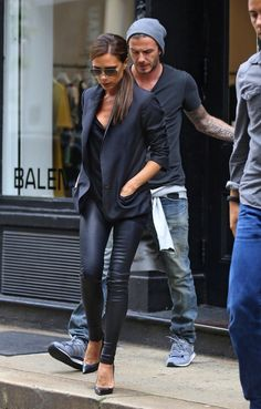 Victoria Beckham Street Style. No one does it quite like Victoria!