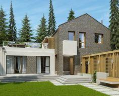 Кирпичный дом 155 м2. Доступен для заказа в поселках RADOSTЬ и РОЩА.