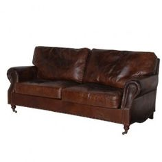 Vintage Leather 3 Seater Sofa only £1399 with free delivery