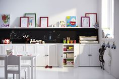 built in playroom storage - Google Search
