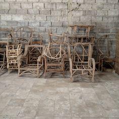 Rattan furniture industry